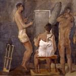 F.Pirandello,_Palestra,_1934-35,_esposto_nella_mostra_Libero_de_Libero,_Roma,_Gam